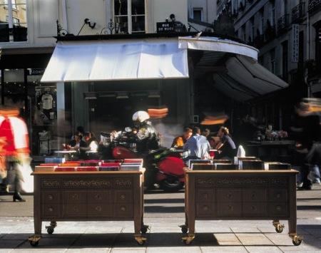 Párizsi kockák XXVII.: a Taschen könyvesbolt