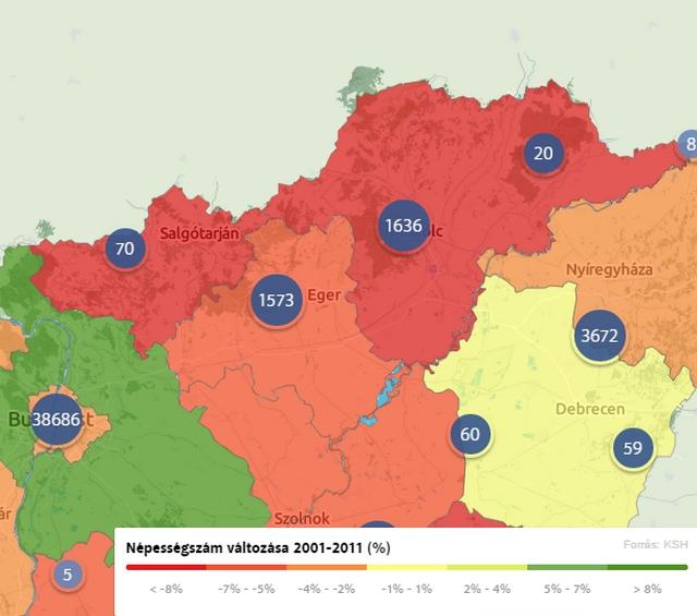 Észak-Magyarországon is élnek gazdagok