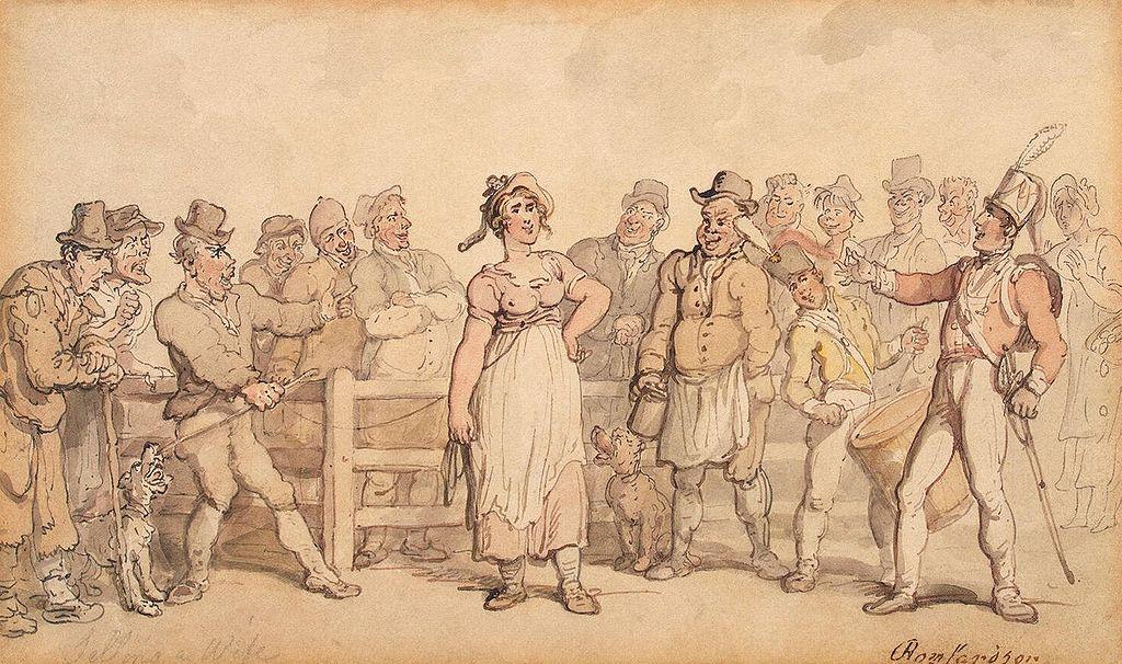1024px-Rowlandson,_Thomas_-_Selling_a_Wife_-_1812-14.jpg