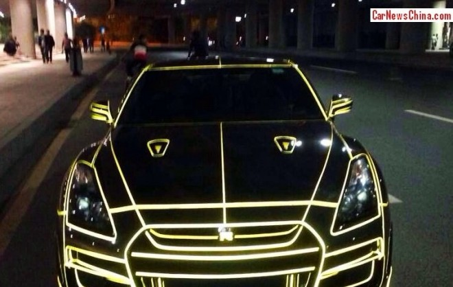 Nissan Gt R Tron St 237 Lusban Pekingi Kacsa