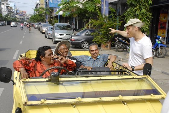 The Act of Killing. Behind the scenes. Car.jpg