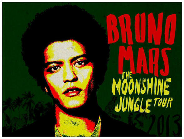 bruno mars moonshine jungle tour 2013 popkult. Black Bedroom Furniture Sets. Home Design Ideas