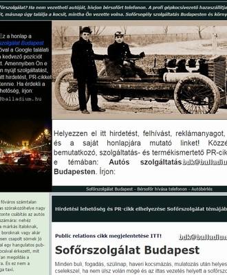 autós és laptop szolgaltatasok budapest