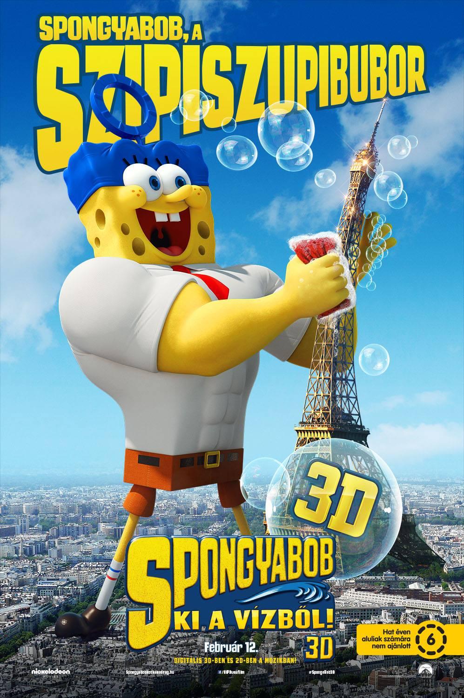 SpongyaBob: Ki a vízből! (2015)