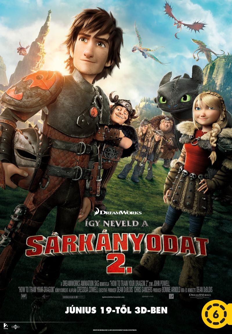 Így neveld a sárkányodat 2. (2014) online film
