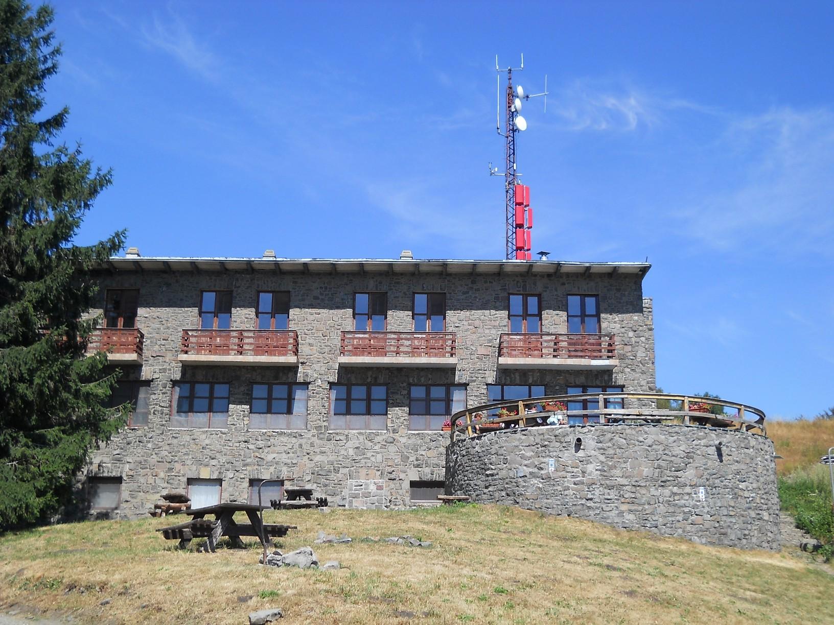 A nagy-hideg-hegyi turistaház, OKT-pecsételőhely