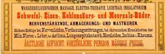 1914 Sanatorium und Wasserheilanstalt Pécs HÍRDETÉS KIEMELT.jpg