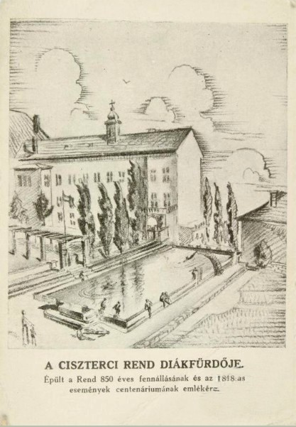 1948 Ciszterci rend gimnázium strandja 1948.jpg