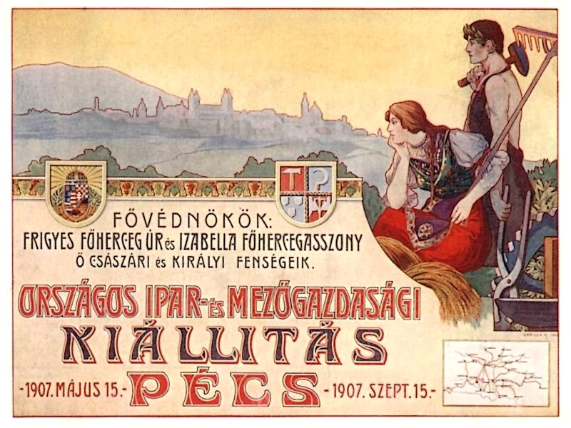 Érdekességek az 1907-es pécsi kiállításról