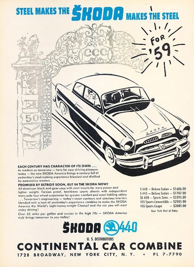 1959. Skoda 440 amerikai kereskedőjének hirdetése.jpg