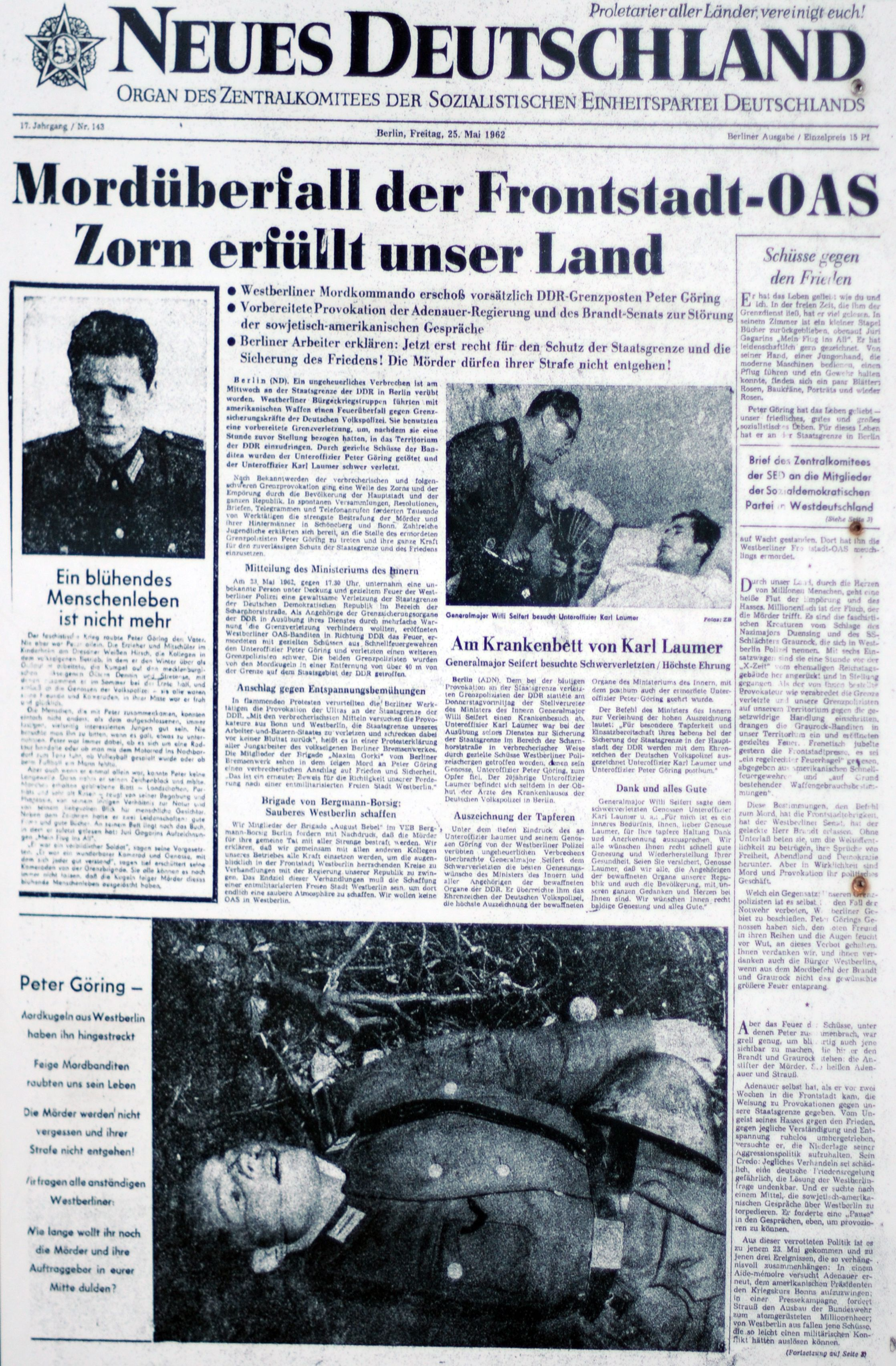 1962. m+íjus 25. Mord+-berfall am Berliner Grenze - DDR Grenzpost get+Âtet másolata2.jpg