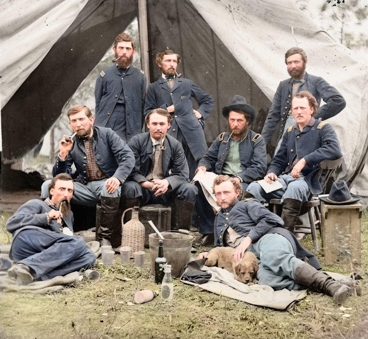23_George Custer kutyával_későbbi Little Big Horn.jpg