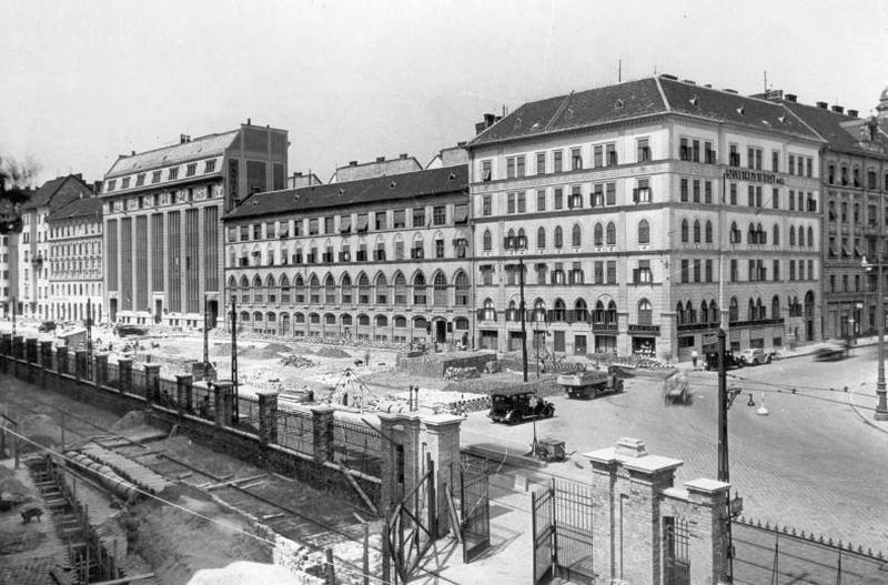 19. Közraktár utca, Boráros tér 1930.jpg