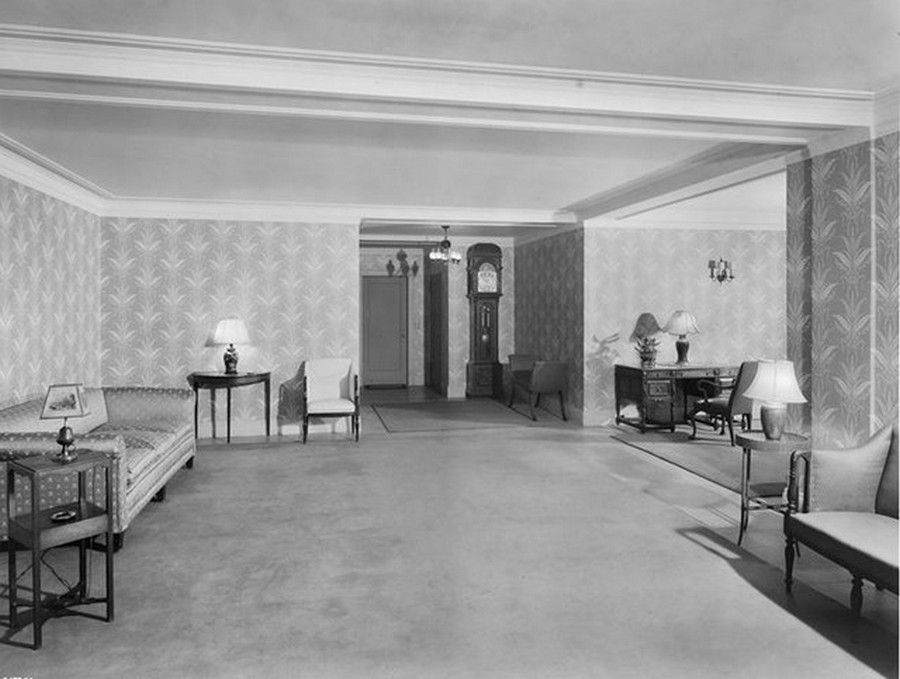 1940. 70 East 77th Street. Apartment lobby remodeled. 3-28-1940.jpg