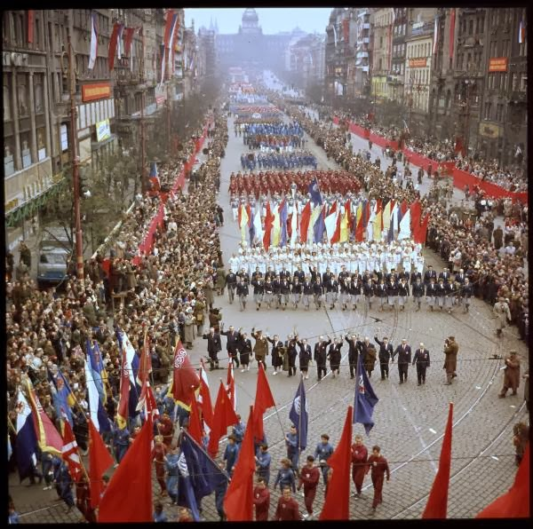 May Day Parade in Prague, Czech Republic in 1956 (2).jpg
