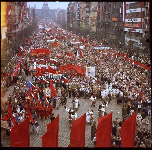 May Day Parade in Prague, Czech Republic in 1956 (4).jpg