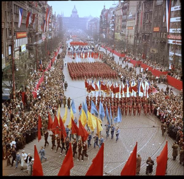 May Day Parade in Prague, Czech Republic in 1956 (6).jpg