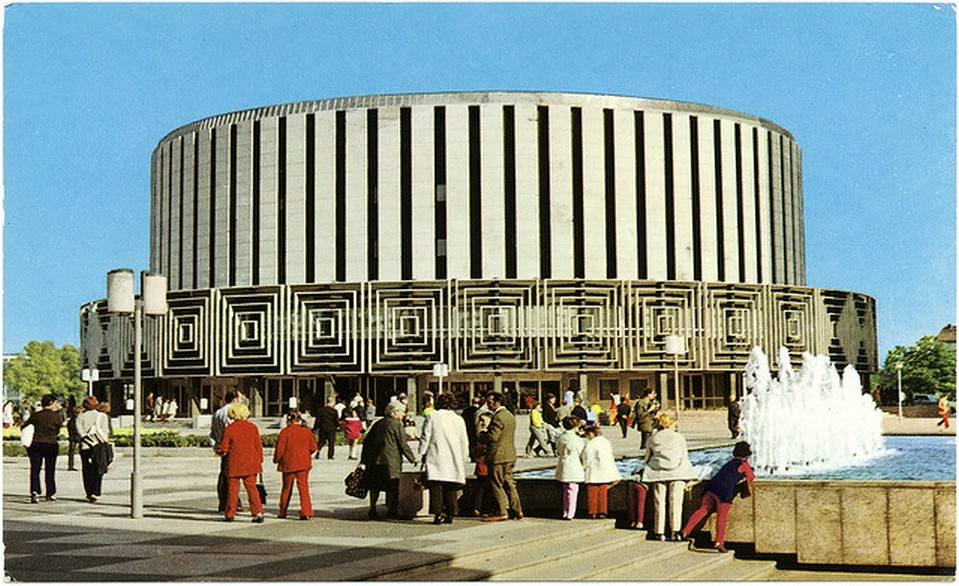 Vintage Movie Theatres and Cinemas (6) Filmtheater Prager Straße (Rundkino), Dresden, Germany, 1970s.jpg