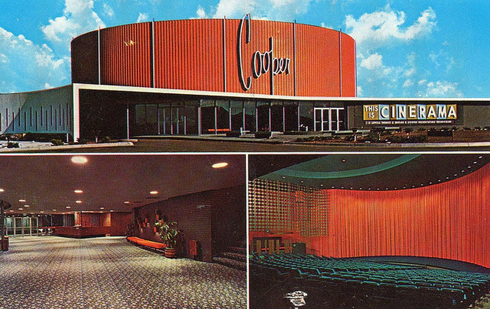 Vintage Movie Theatres and Cinemas (8) Cooper Theater, Denver 1960s.jpg