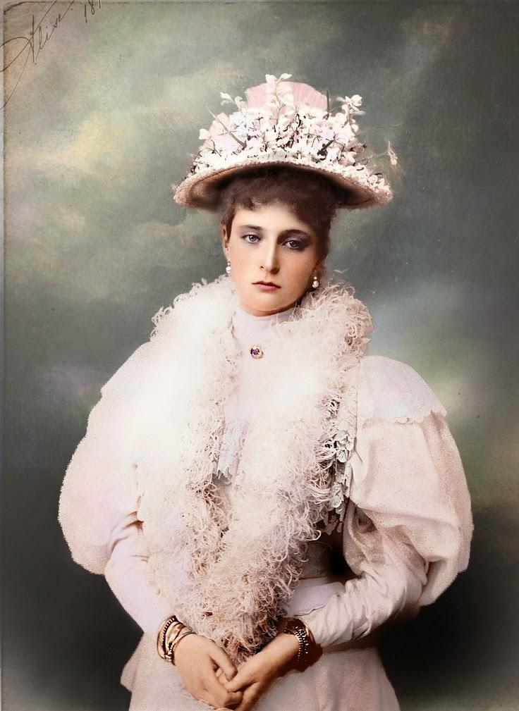 1900 körül. Alekszandra Fjodorovna orosz cárné..jpg