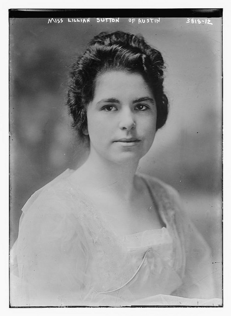 1915-20. Miss Lillian Sutton of Austin.jpg
