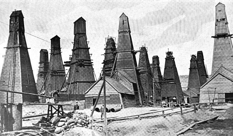 1876. Azerbajdzsán. Balakhani petróleumkutak..png