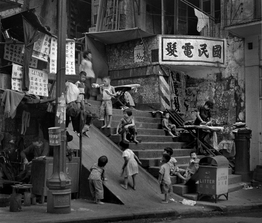 1950. Hong-kongi utcakép..jpg