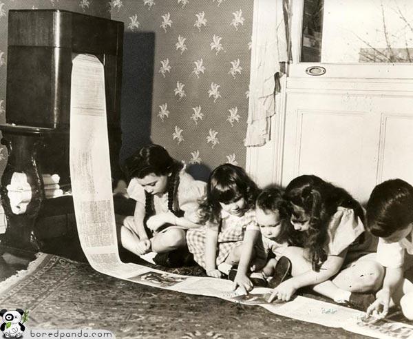 1938- Az első faxkészülék. A rádióállomás sugározta jelek alapján nyomtatott újság..jpg