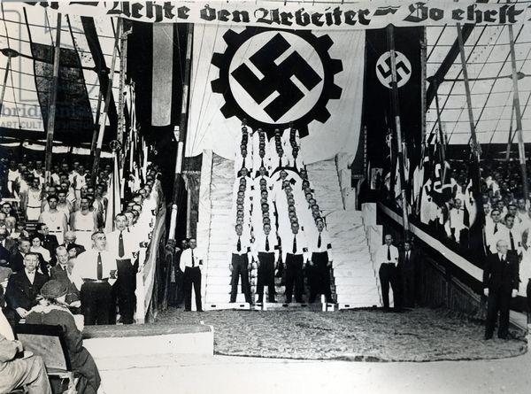 1930-as évek. Argentín náci szervezet nagygyűlése..jpg