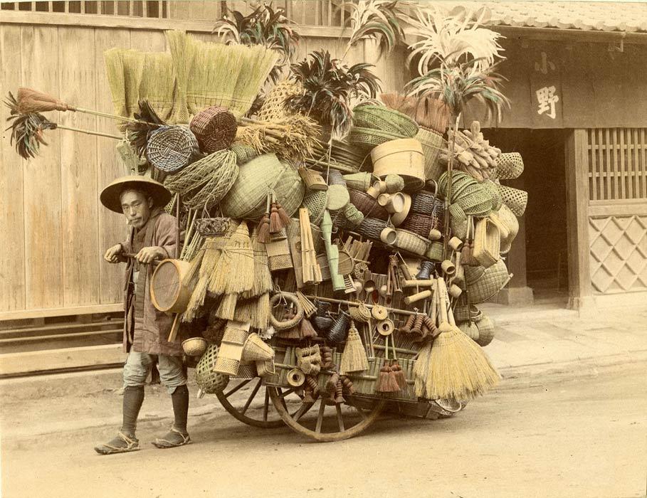 1901. Japán vándor kosár- és seprűárus.jpg