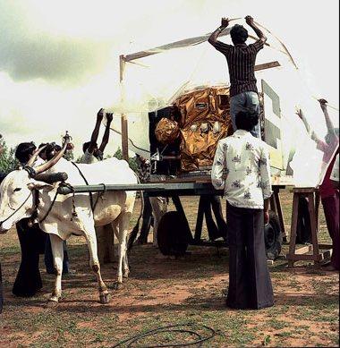 1981. Az első indiai műhold az Apple szállítás űrtechnológiai módszerrel..jpg