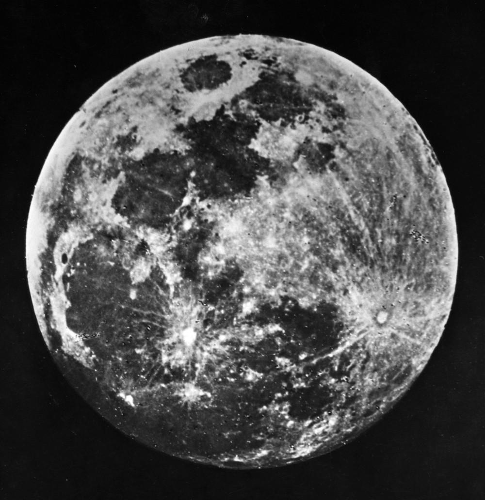 1840. A legelső Hold fotót Dr. J. W. Draper készítette New Yorkból..jpg