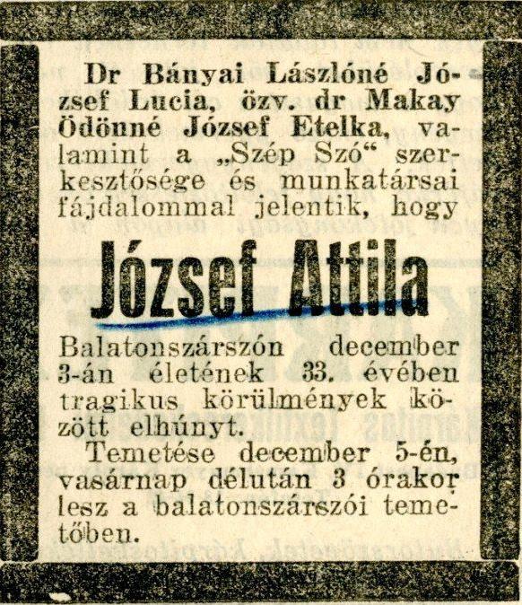 1937. József Attila gyászjelentése..jpg