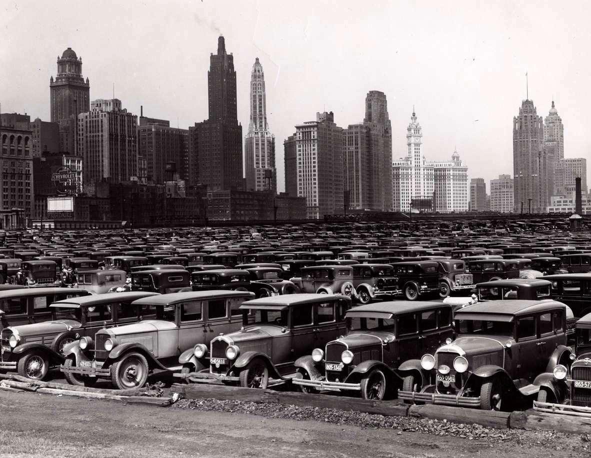 1934. Grand Park parkoló, Chicagoban..jpg