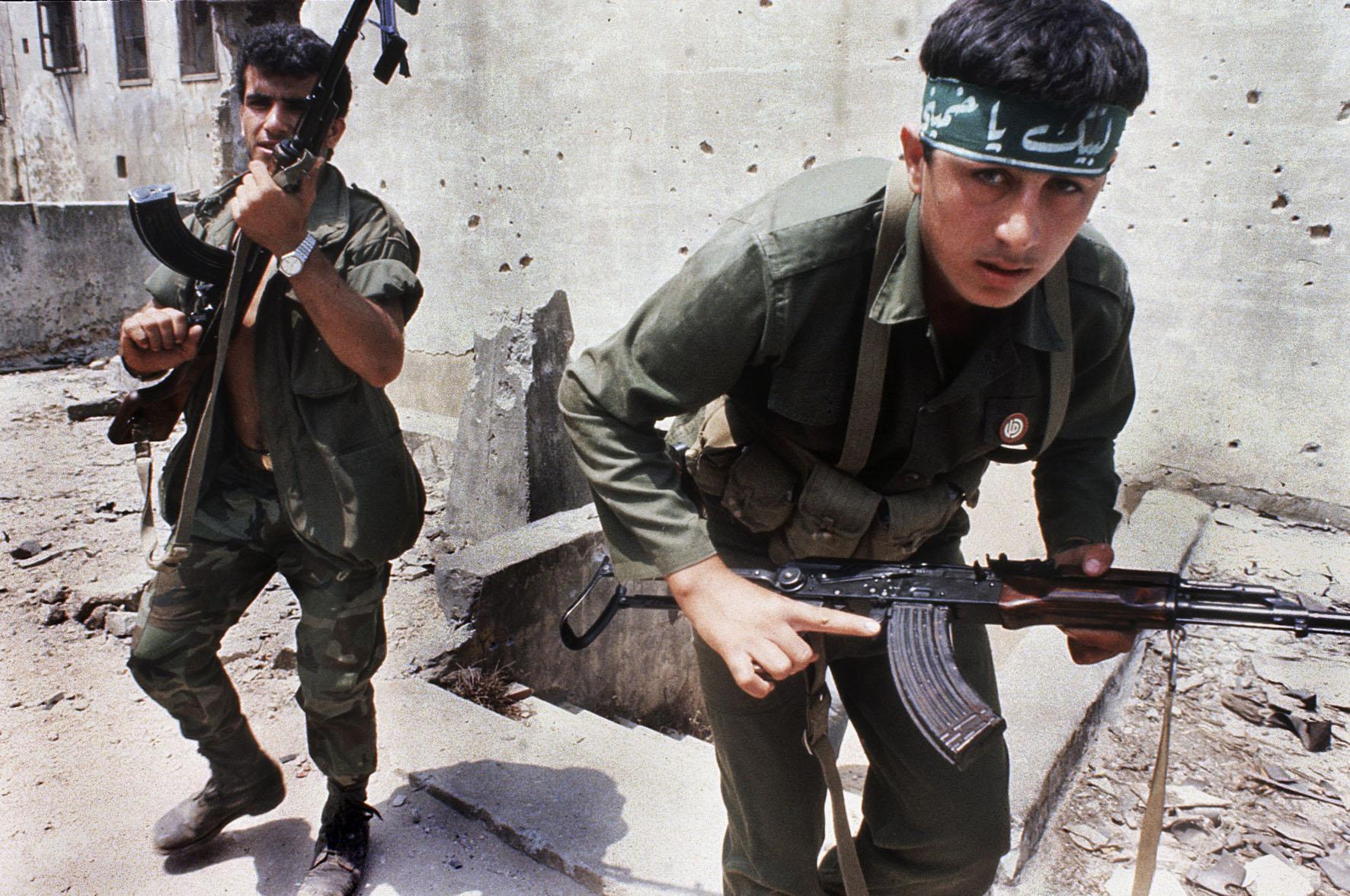 1985. Siita milicisták Bejrútban..jpg