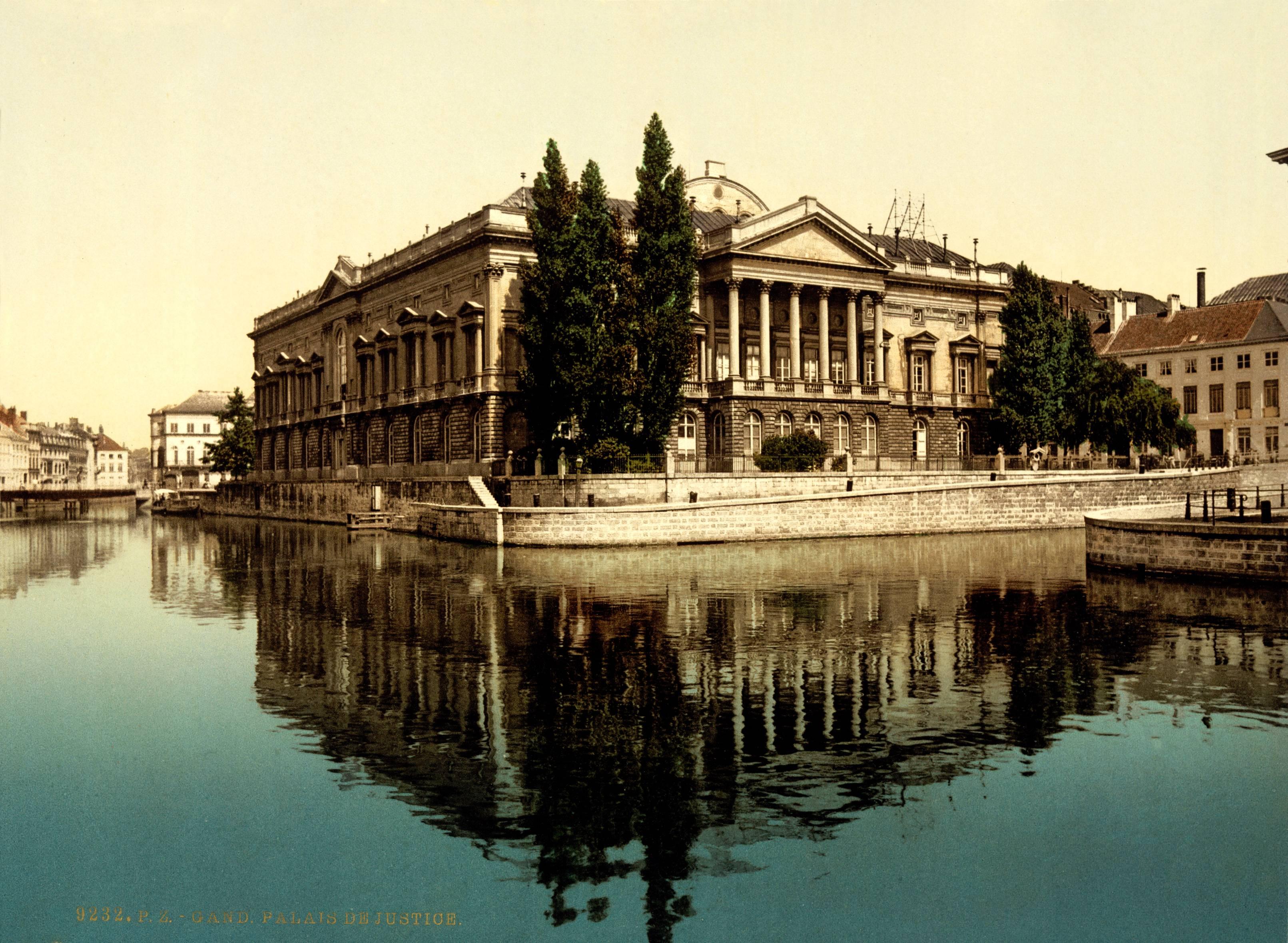 1895. A genti (Belgium) igazságügy palota látképe..jpg