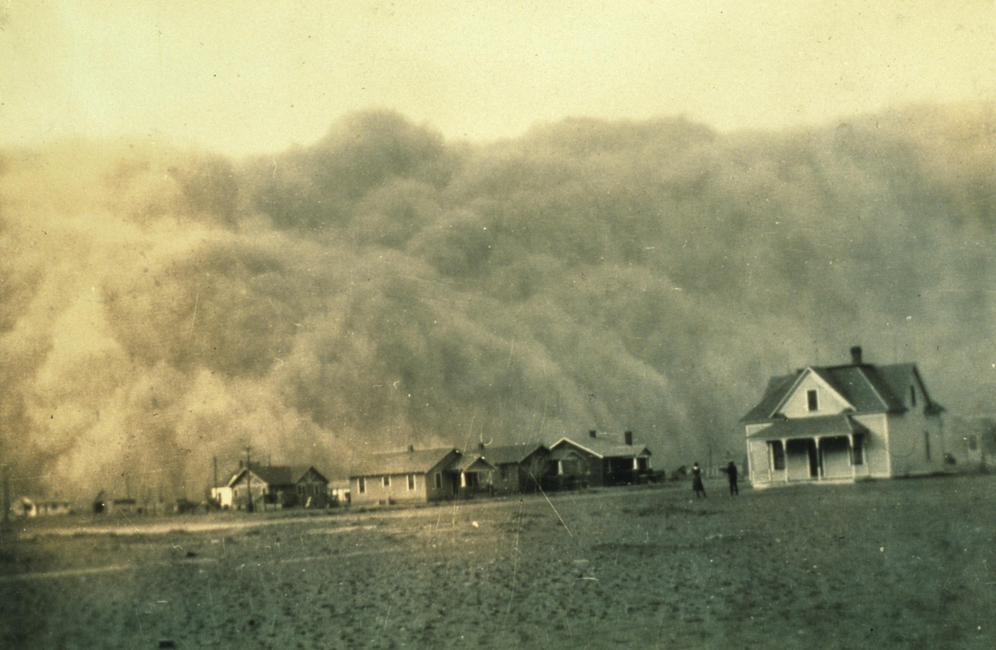 1935. Április. Homokvihar közeleg Stratford felé Texasban..jpg