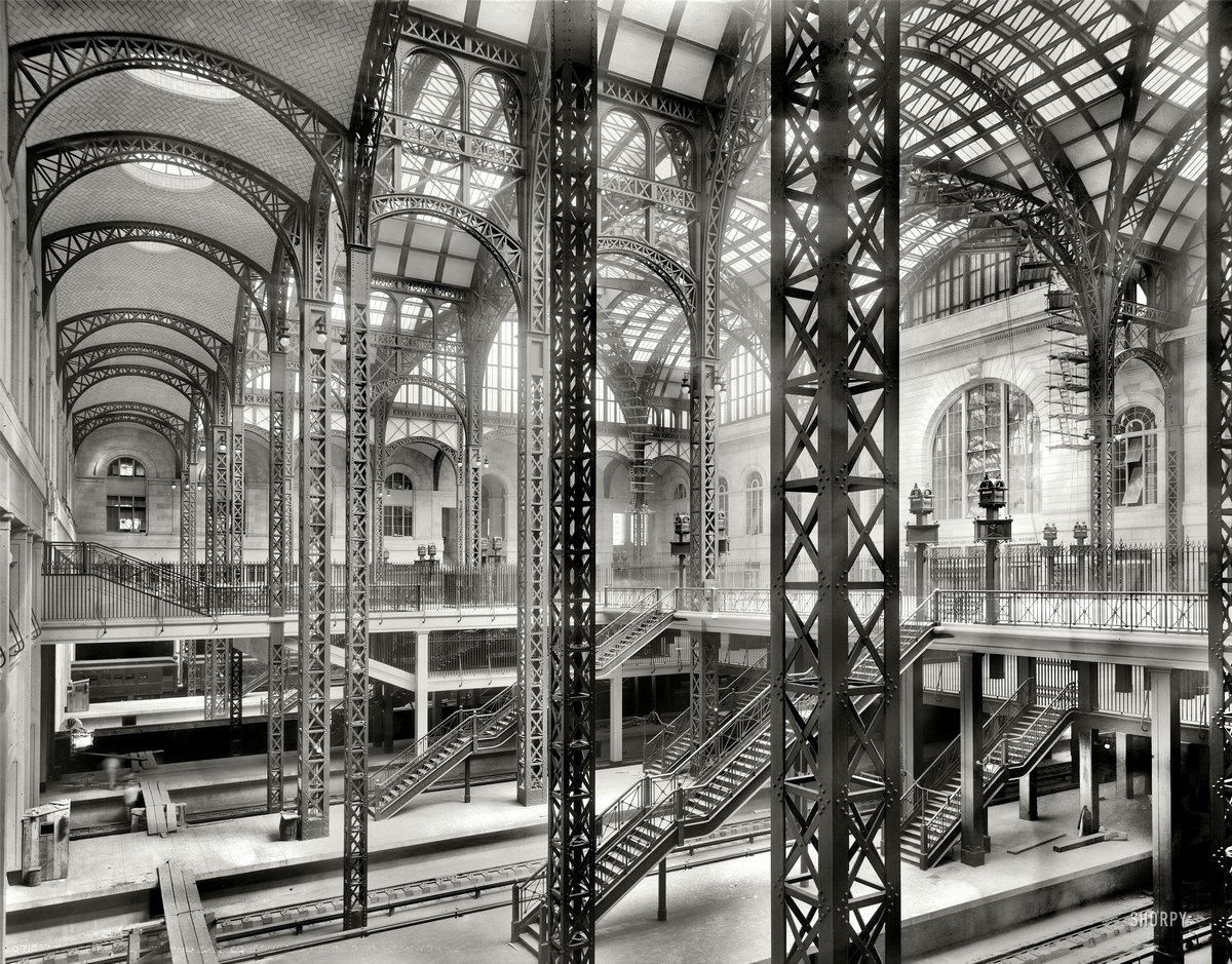 1910. Pennsylvania állomás New York..jpg
