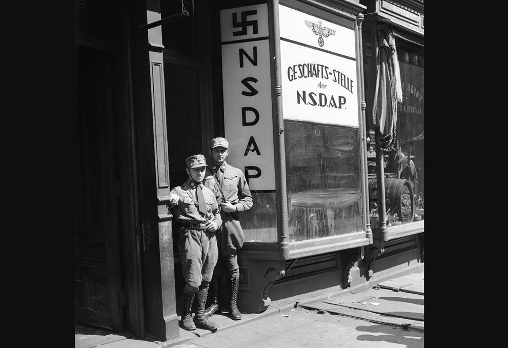 1932. A Nemzetiszocialista párt megnyitotta irodáját New Yorkban..jpg
