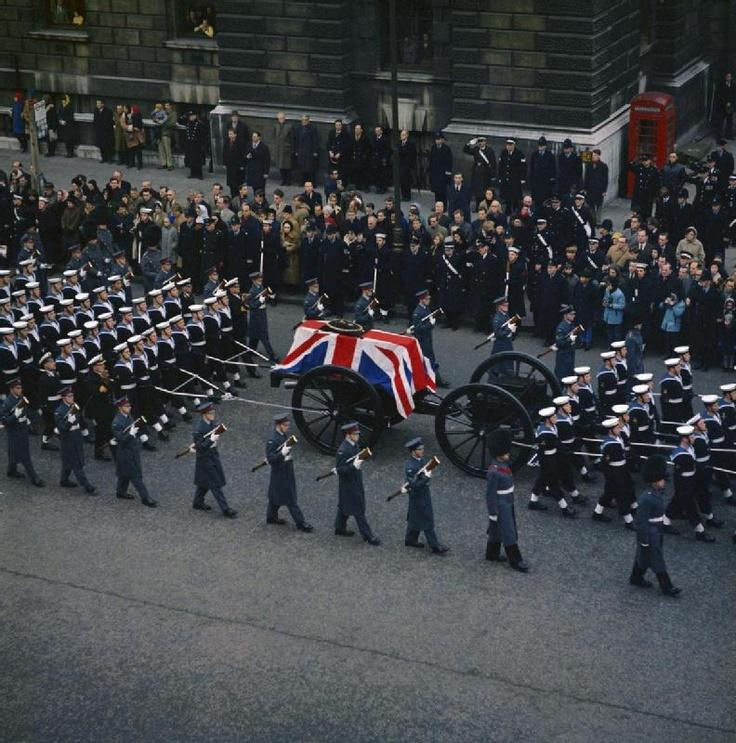 1965. London, Egyesült Királyság. Winston Churchill temetése..jpg