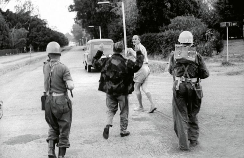 1961. Kongói krízis. Ír ENSZ csapatok francia idegenlégiósokat fogtak el Katanga tartományban..jpg