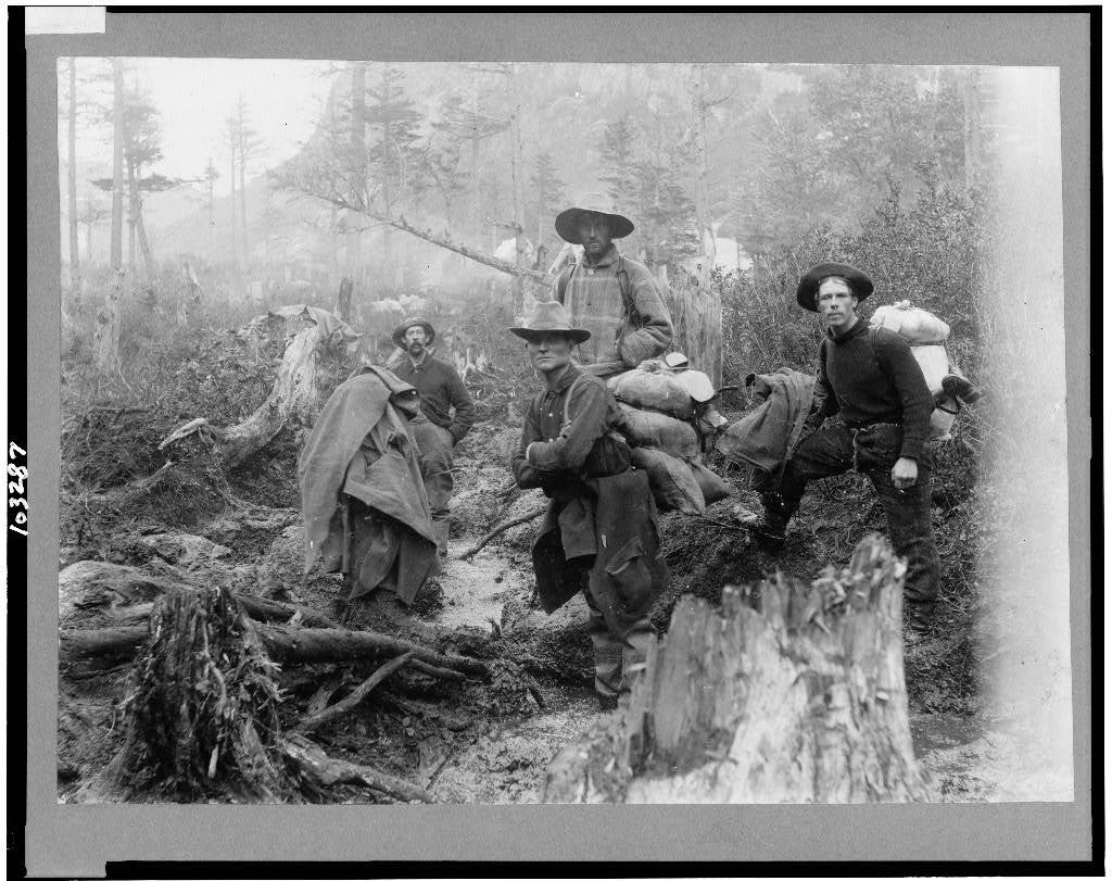 1897. Klondike aranyláz szerencsevadászai.jpg