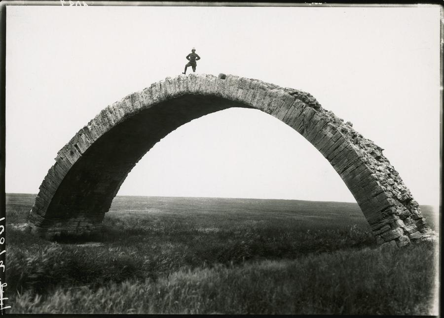 1920. Római (!) híd maradványa Wadi al Murr, Moszul, Irak..jpg