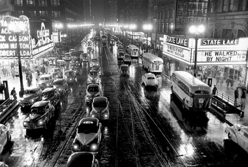 1949. Chicagói utcakép, Stanley Kubrick fotója..jpg