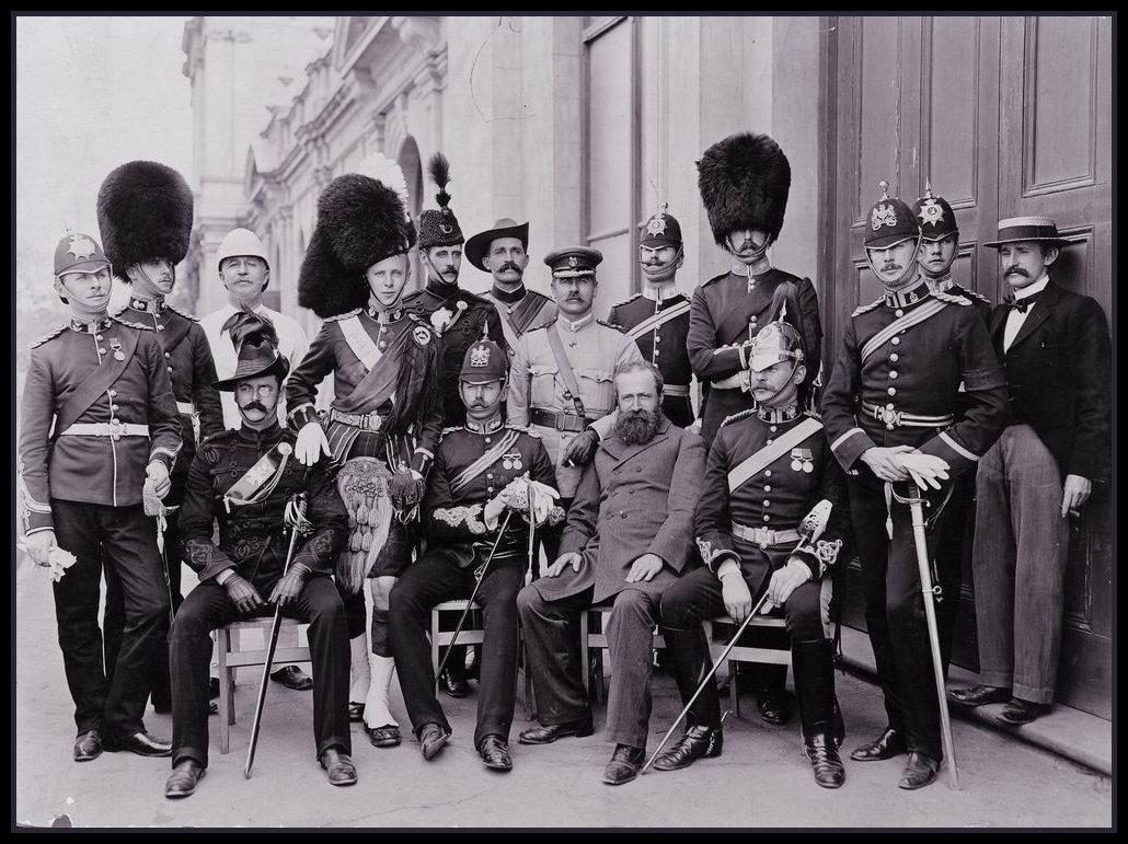 1901. A brit birodalmi hadsereg vezetőnek látogatása Ausztráliában..jpg