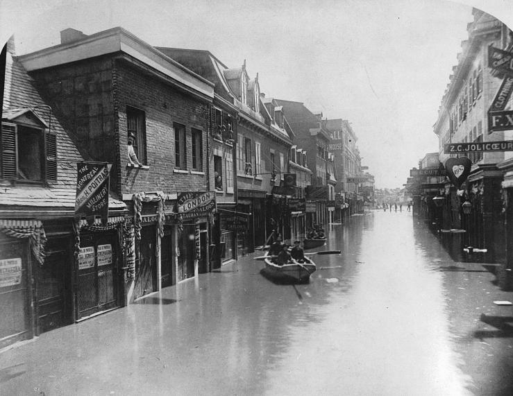 1886. Kanada. Montreáli árvíz..jpg
