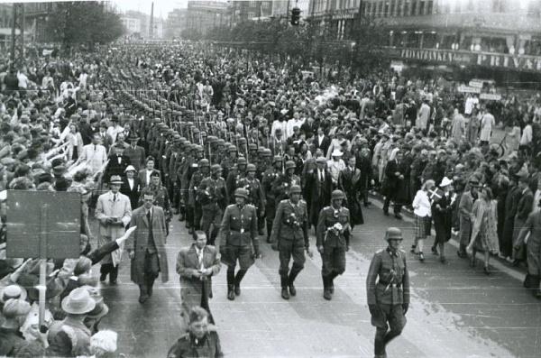 1942. Dánia. Koppenhága náci megszállása..jpg
