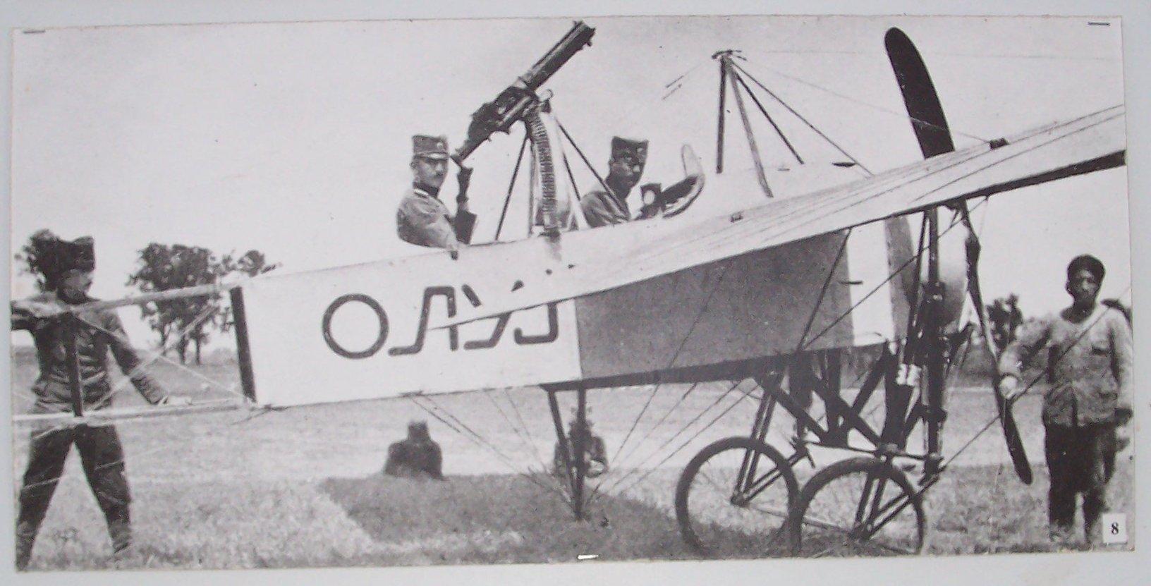 1915. A szerb légierő első fegyveres repülőgépe..jpg