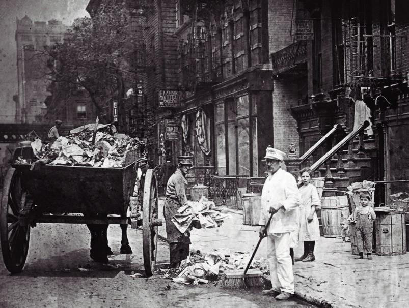 1894. New Yorki köztisztasági munkások..jpg