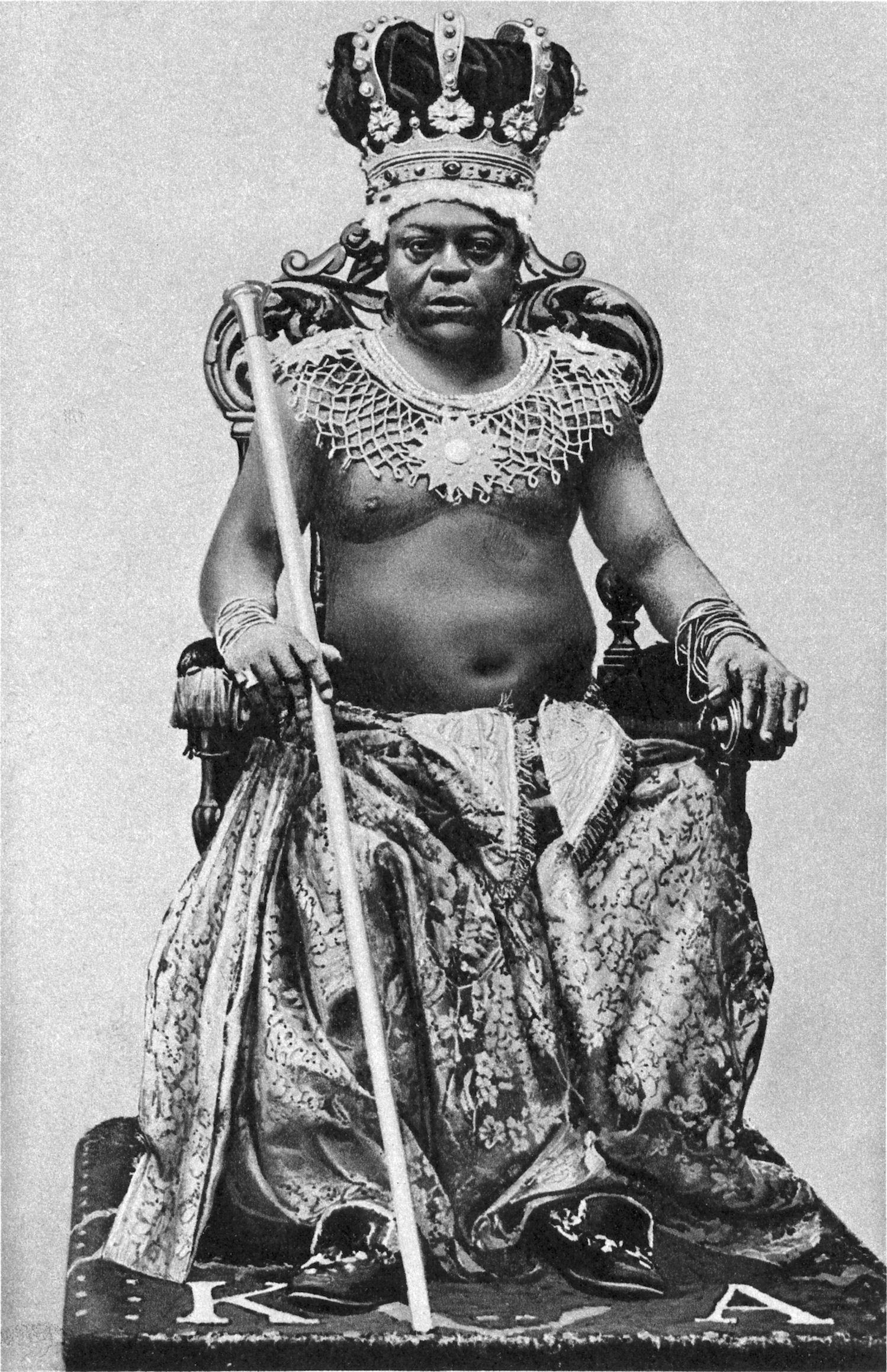 1922. II. Archibong, Gambia királya..jpg